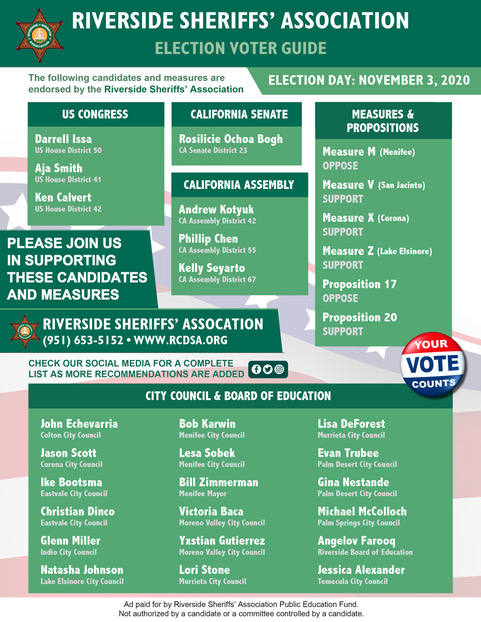 ELECTION VOTER GUIDE